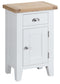 St Ives Hand-Painted White Small Cupboard