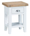 St Ives Hand-Painted White Side Table
