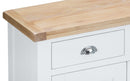 St Ives Hand-Painted Whte 2 Door 2 Drawer Sideboard
