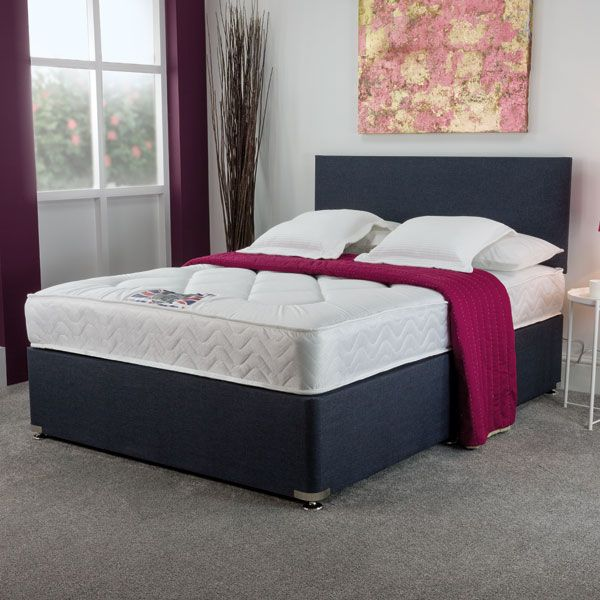 York Demask Divan Set & Headboard