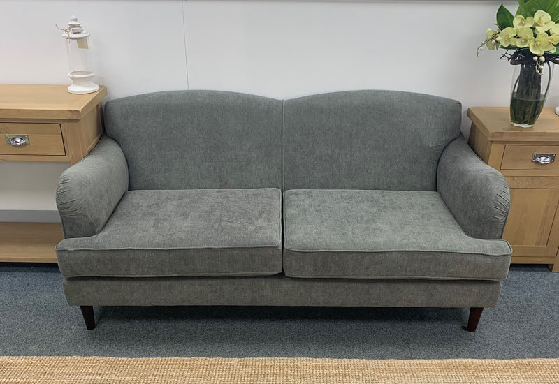 Dani Fabric Pewter Sofa