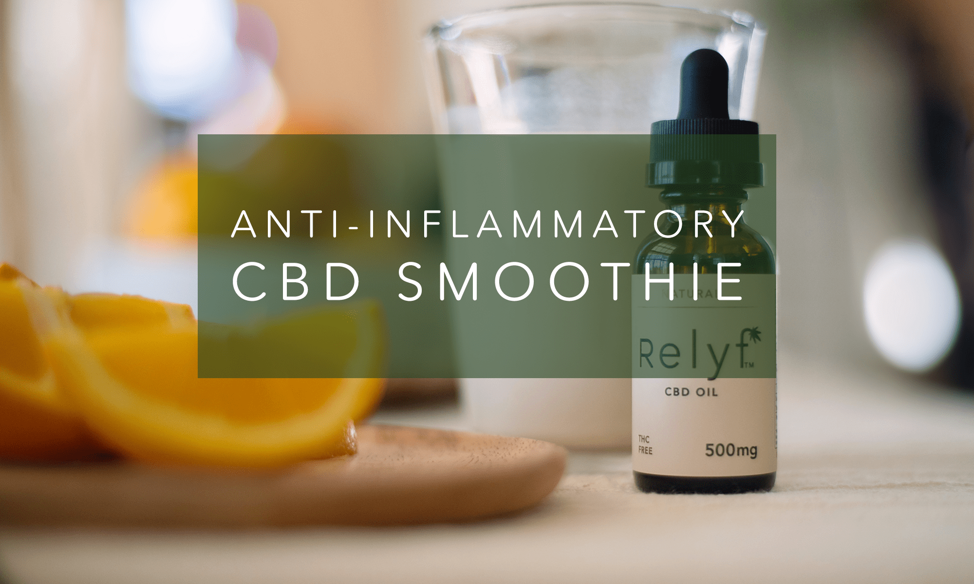 How to Make an Anti-Inflammatory CBD Breakfast Smoothie