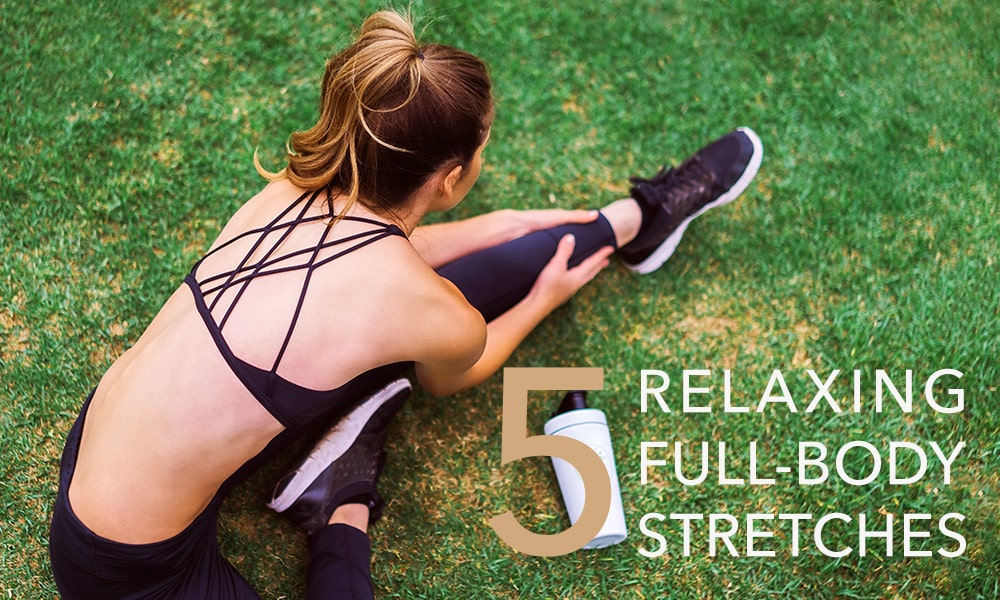 5 relaxing full body stretches