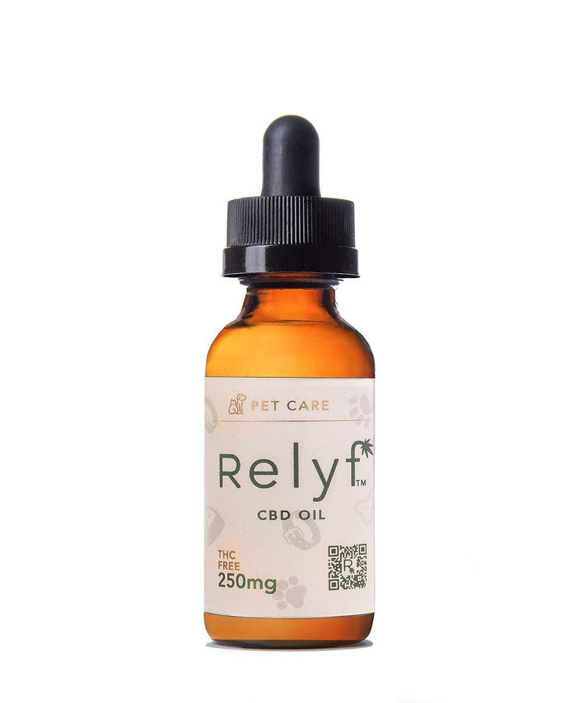Pet Care CBD Oil Natural Flavor Relyf