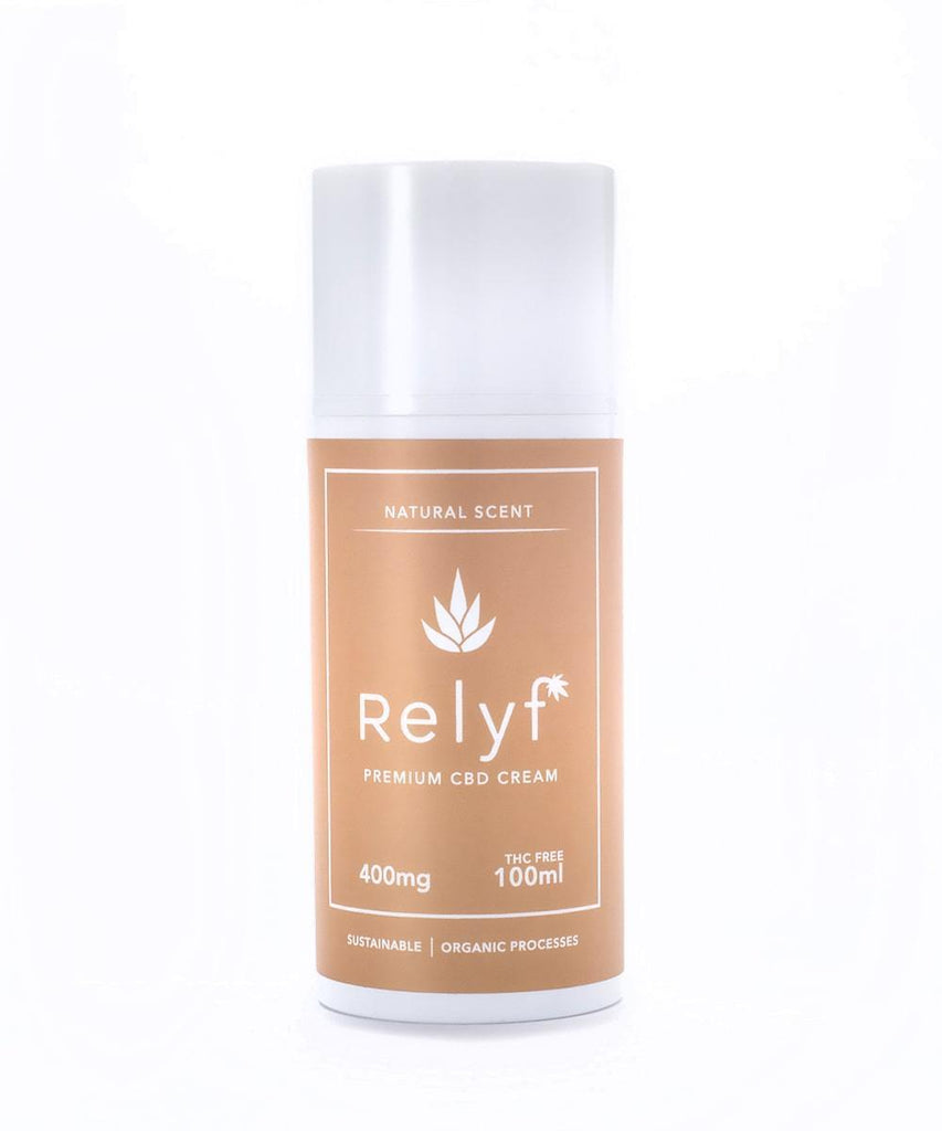 400mg CBD Cream THC Free - Relyf