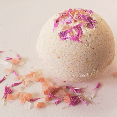 pregnancy + postpartum bath bomb