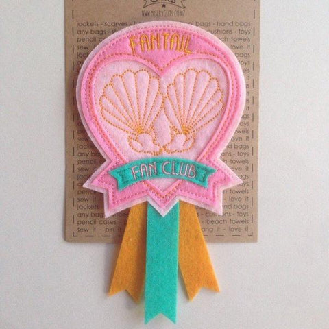 Misery Guts - Fantail Fanclub Patch