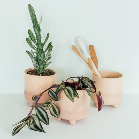 Half Dipped Pot