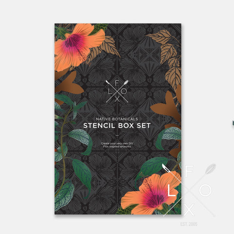 FLOX | NATIVE BOTANICALS STENCIL BOX SET