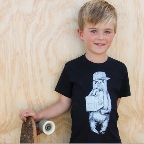 Sloth kids t-shirt