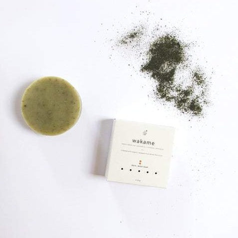 WAKAME SOAP + GREEN CLAY,LAVENDER & PEPPERMINT
