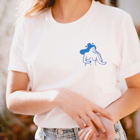 EMBROIDERED SAGITTARIUS T-SHIRT