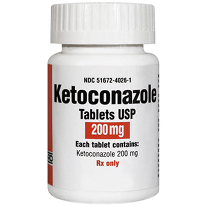 Ketoconazole 200mg (15 Pills )