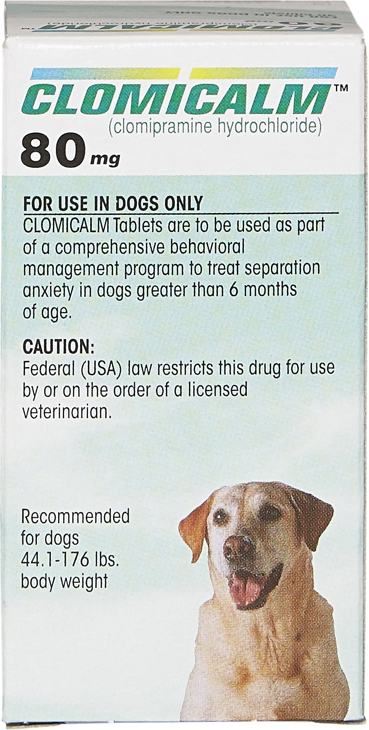 Clomicalm (Clomipramine HCl) Tablets for Dogs Bottle