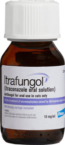 Itrafungal Oral Solution 10 mg/mL 52-mL