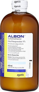 Albon Oral Suspension 5% for Dogs + Cats