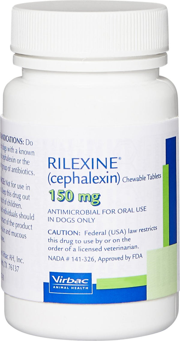 Rilexine (Cephalexin) Chewable Tablets for Dogs