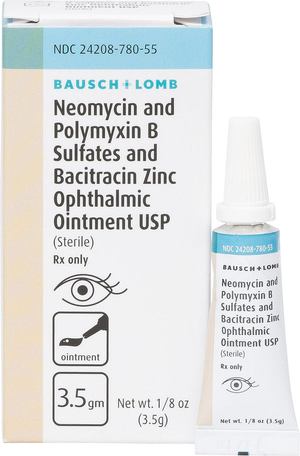 Neo-Poly-Bac Ophthalmic Ointment for Dogs & Cats 3.5g