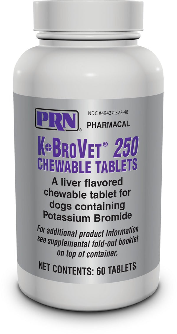 K-BroVet Chewable Tablets for Dogs 60/Bottle