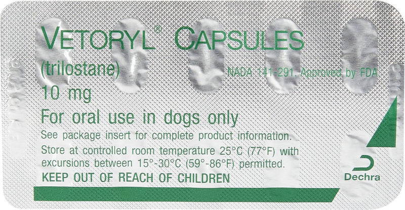 Vetoryl Capsules for Dogs 30 Capsules