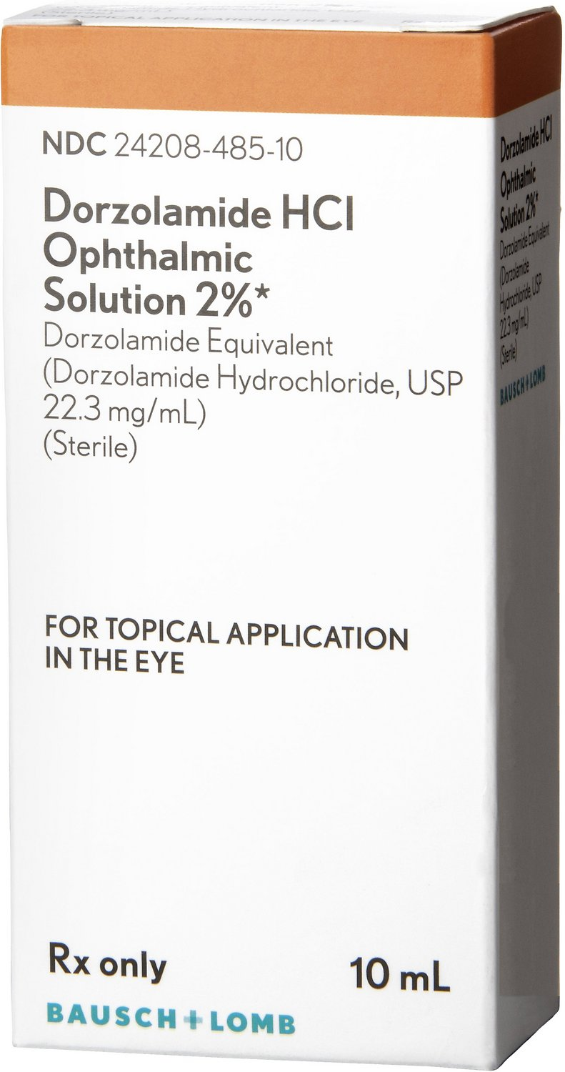 Dorzolamide HCL Ophthalmic Solution 2% 10-mL