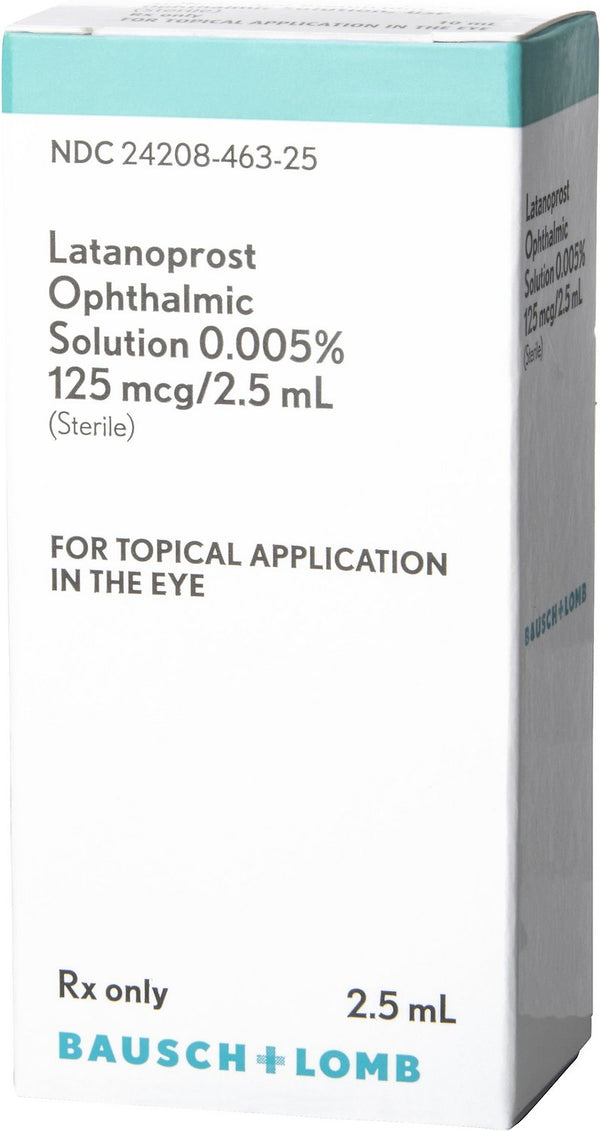 Latanoprost Ophthalmic Solution 0.005% 2.5-mL