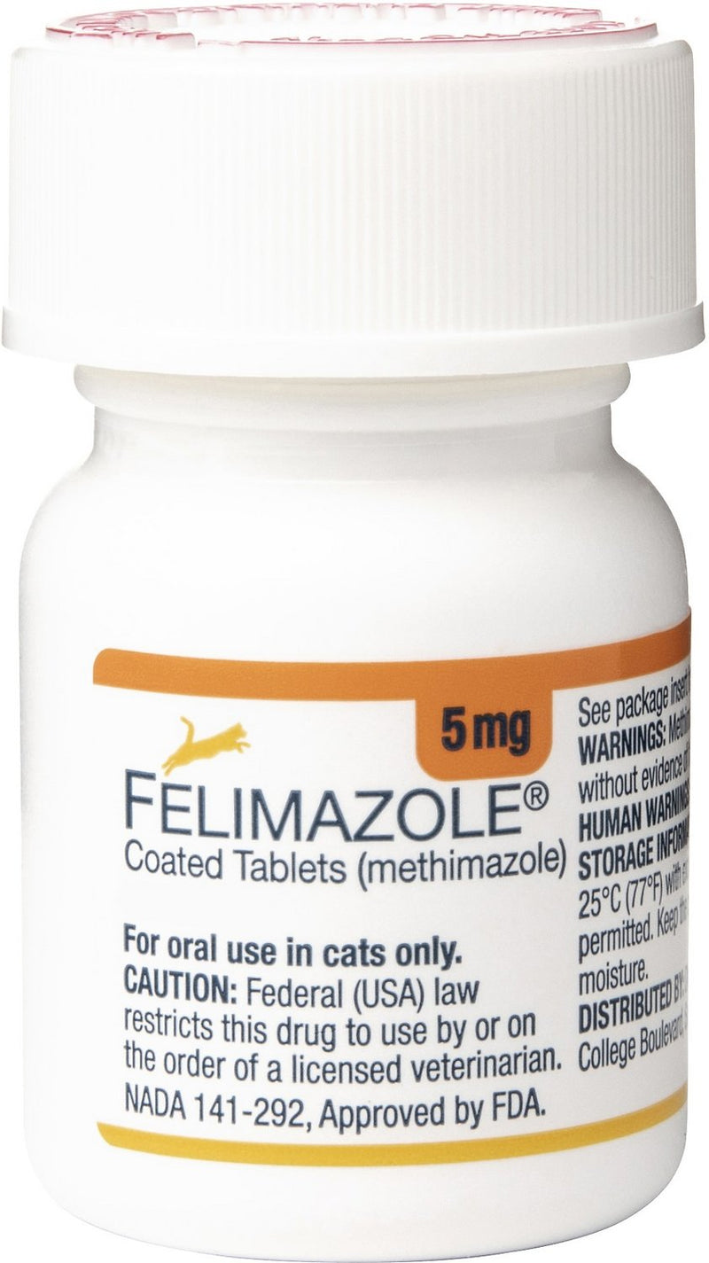 Felimazole Tablets for Cats (100 Tabs)