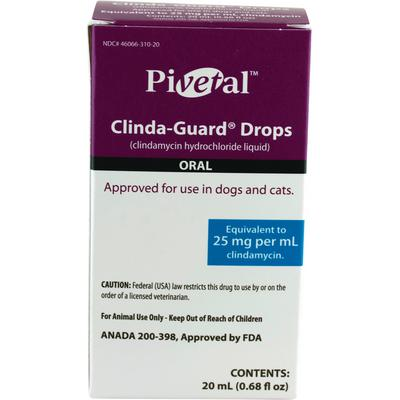 Clindamycin HCl (Generic) Oral Drops for Dogs + Cats
