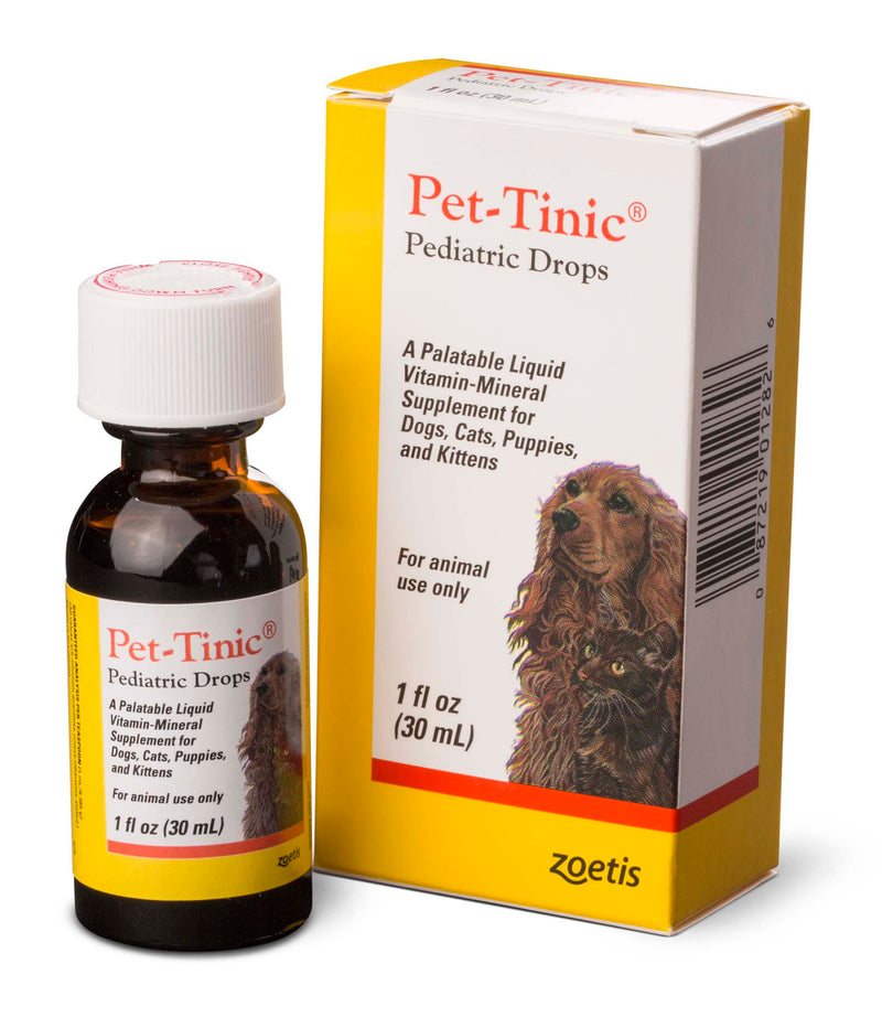 Pet Tinic® Vitamin for Cats & Dogs 4oz