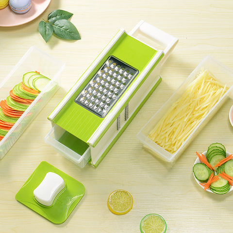 Five-in-one multi-function grater