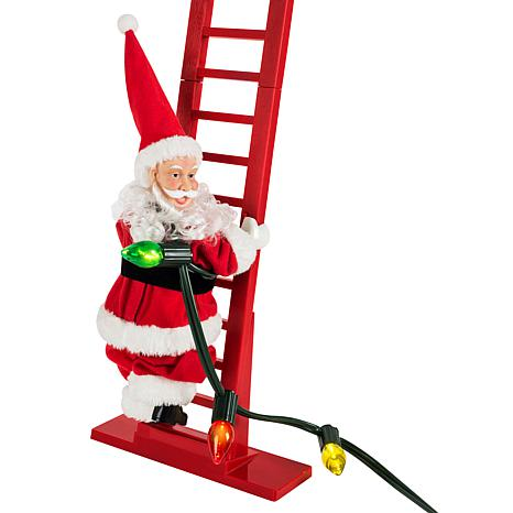 Electric ladder Santa Claus Christmas children's toys
