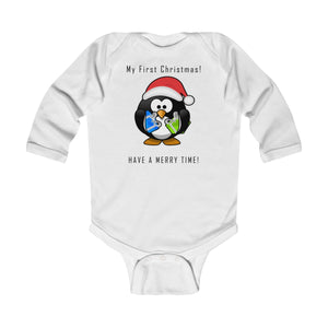 First Christmas Infant Long Sleeve Bodysuit