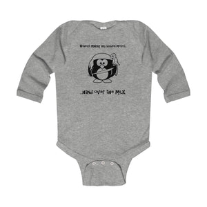 Hand Over The Milk UK Infant Long Sleeve Bodysuit