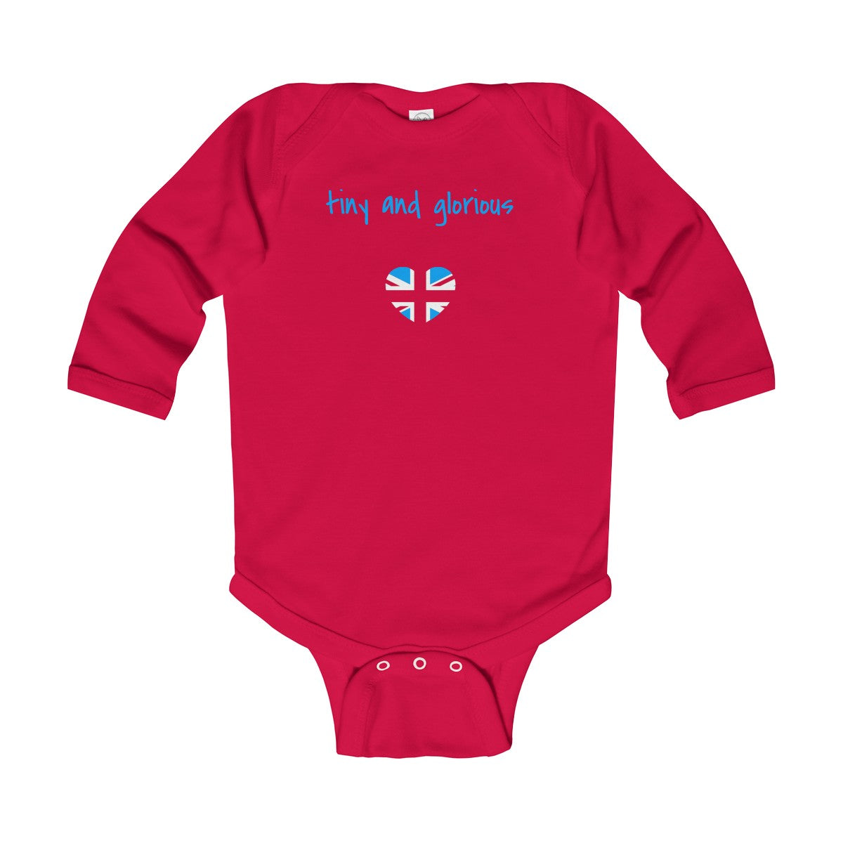 Tiny and Glorious Infant Long Sleeve Bodysuit