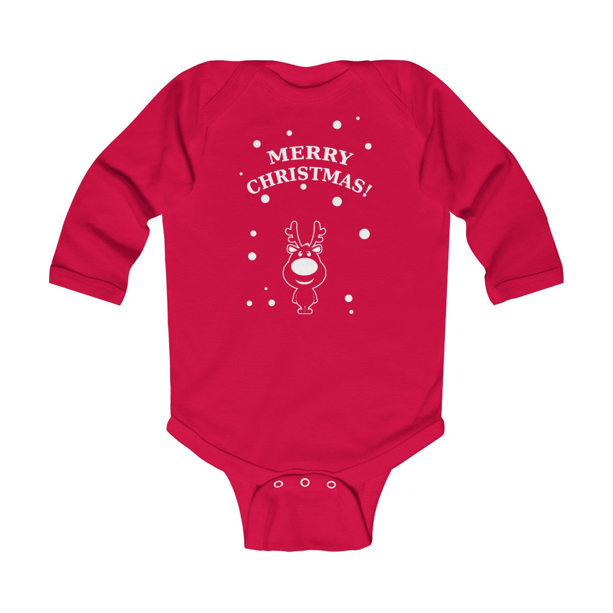 Rudolph Infant Long Sleeve Bodysuit