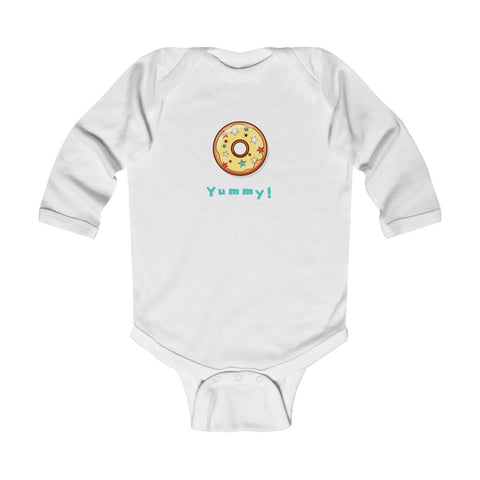 Yummy! Infant Long Sleeve Bodysuit
