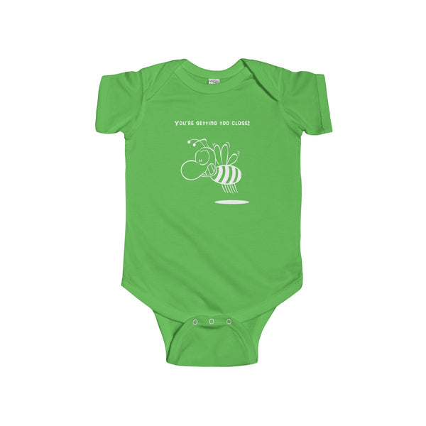 Getting Too Close Infant Short Sleeve Bodysuit