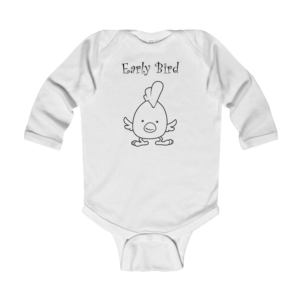 Early Bird Infant Long Sleeve Bodysuit