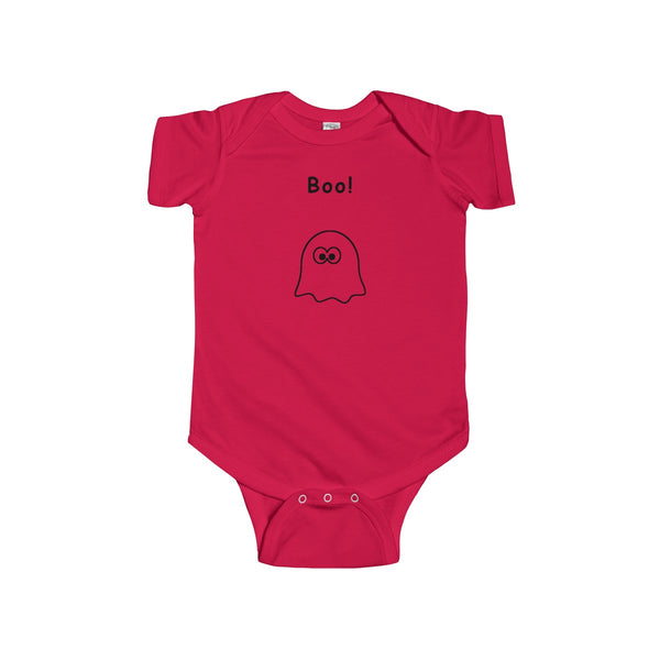 Boo Infant Short Sleeve Bodysuit