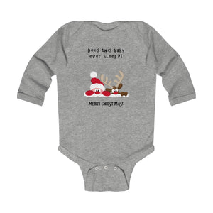 Baby Ever Sleep Infant Long Sleeve Bodysuit Onesie
