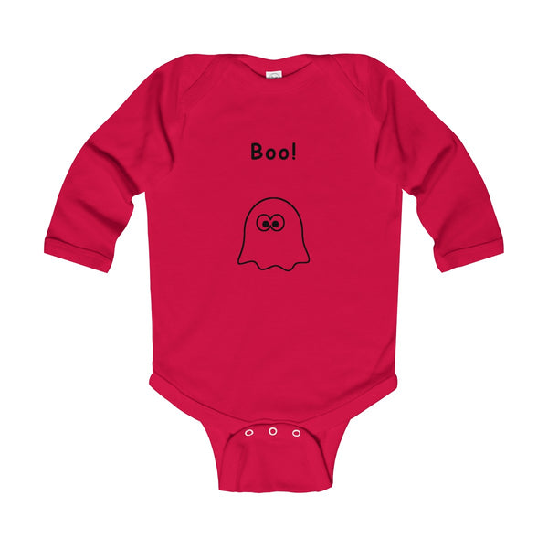 Boo Long Sleeve Bodysuit