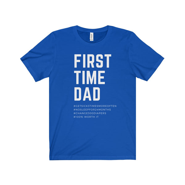 First Time Dad UK Short Sleeve Tee