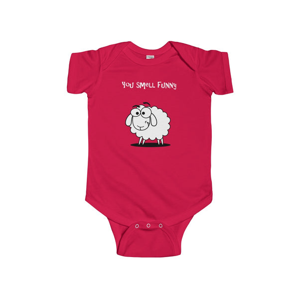 You Smell Funny WT Infant Short Sleeve Bodysuit
