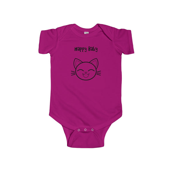 Happy Baby Infant Short Sleeve Bodysuit