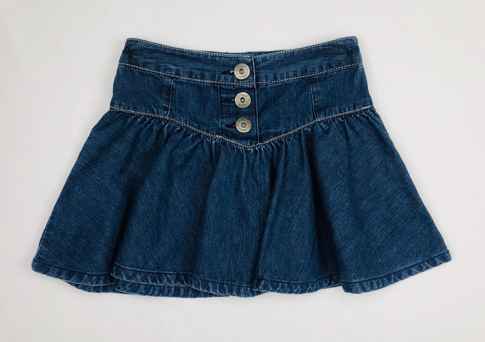 Next Girls Button Fly Denim