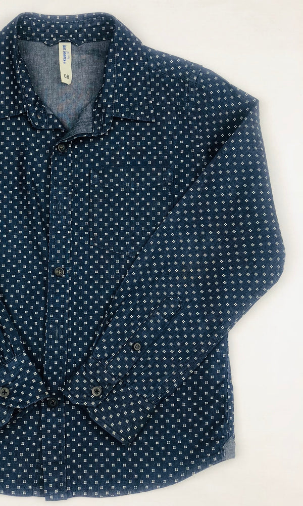 Just Jeans Boys Square Print Shirt