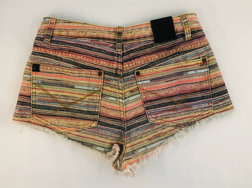 Insight Stripe Girls Shorts