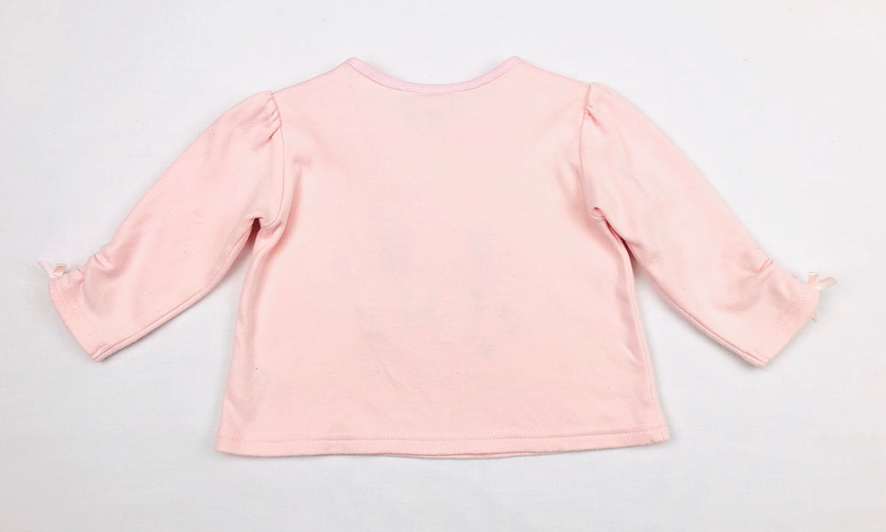 Next Baby Girl Pink Long Sleeves