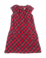 H&M Red Plaid Dress