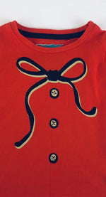 Next Boys Red Bowtie Long Sleeves